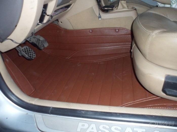 大众帕萨特领驭新脚垫作业,感觉大气挺多的 同时也说说用车感受高清图片