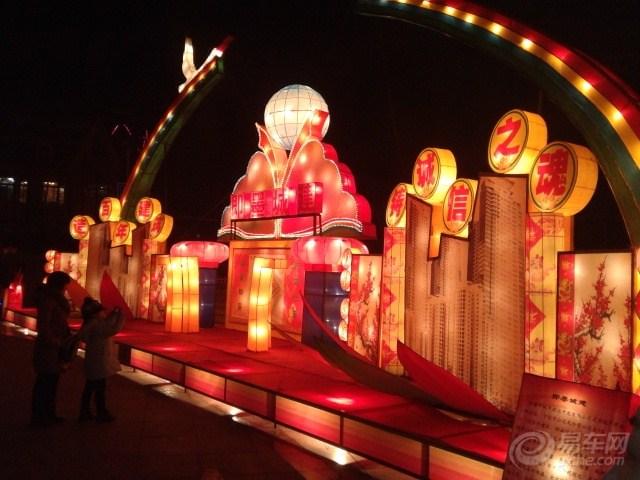 青岛即墨墨河公园灯会,新鲜出炉,申精