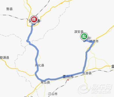 千岛湖地图