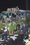 杭州机场高速两大巴相撞造成重大伤亡