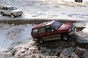 SUV之冰天雪地外景实拍