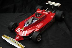 法拉利赛车312T 拼装喷漆