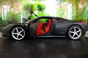 Ferrari F458变形金刚黑色