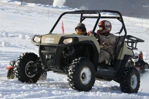 全地形车探访阿尔山冰雪节