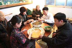 温馨欢乐奖:去岳父家吃年夜饭