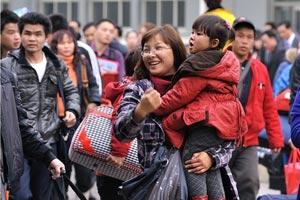 温馨欢乐奖:春节回家过年的喜悦