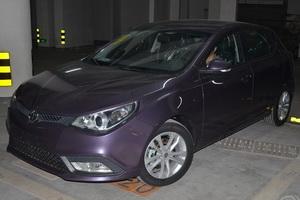 重庆第一台紫色MG5手豪提车