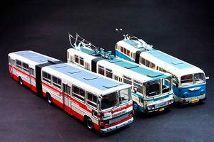 用模型见证北京公交车的改革变迁