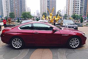 2013款BMW 6系COUPE提车作业