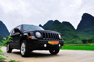 开着JEEP去桂林,烟雨漓江之旅